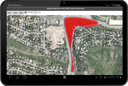 Mobile ArcGIS – Auto Feature Generation Using GPS