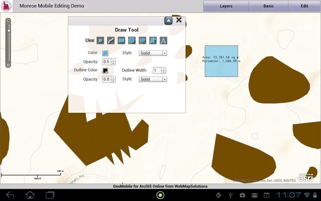 iPad ArcGIS Online Editing and Annotation Tools