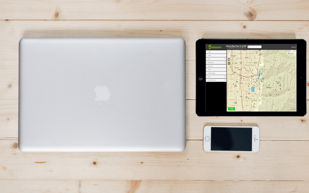 Need a cross-platform map app that can be displayed on laptop, tablet and smartphone from any location?