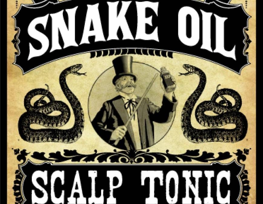 GIS Snake Oil Salesmen and Dot Connectors
