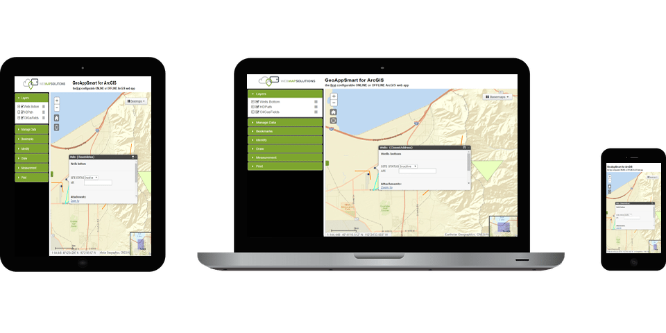 Flexible Editable Offline GIS Maps Made Simple